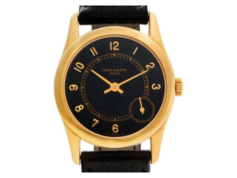 Patek Philippe Calatrava 5000J Gold 33.0mm  Watch