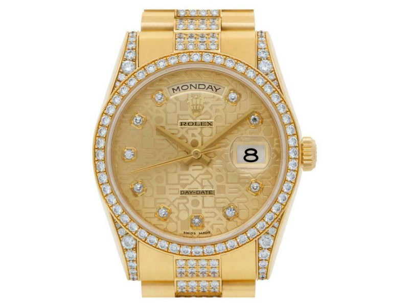 Rolex Day-date 118388 Gold 36.0mm  Watch