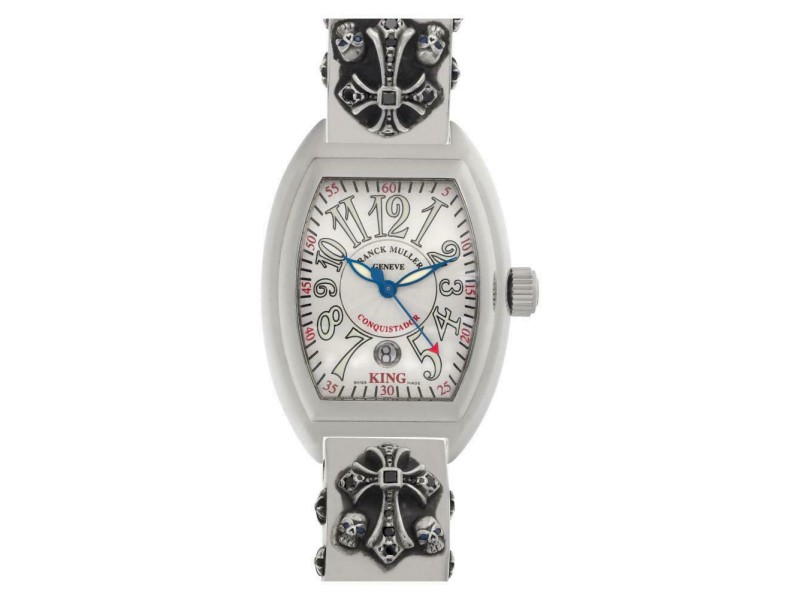 Franck Muller King Conquistador 8005 CC Steel 46.0mm  Watch