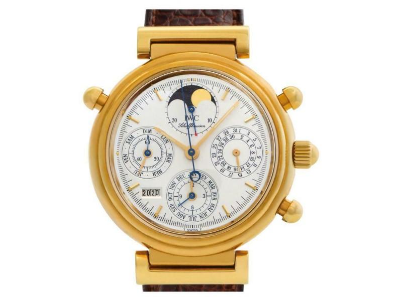 Iwc Da Vinci IW375107 Gold 39.0mm  Watch