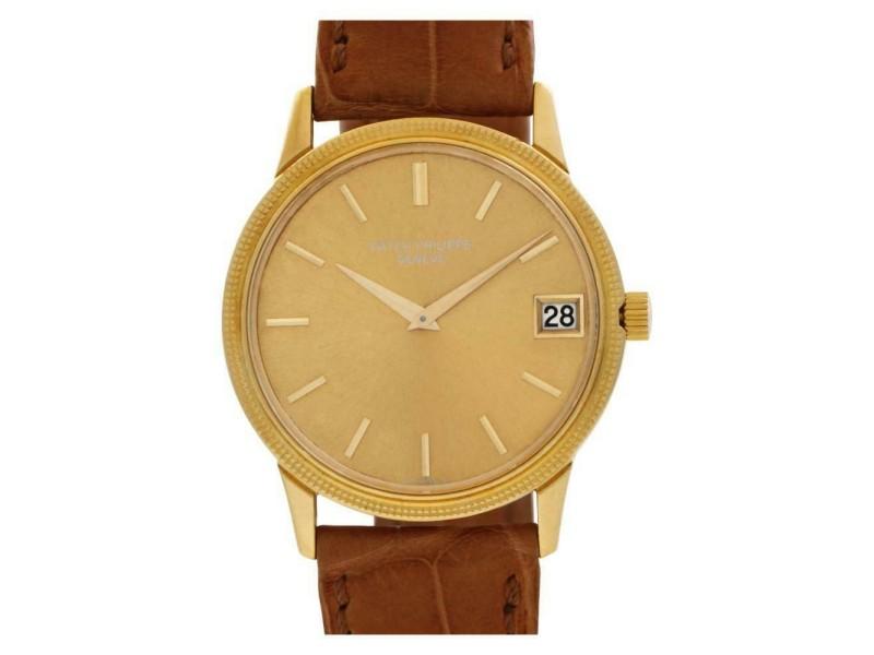 Patek Philippe Calatrava 3602 Gold 33.0mm  Watch