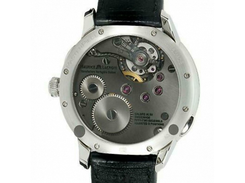 Maurice Lacroix Masterpiece MP7218-S Steel 46.0mm  Watch