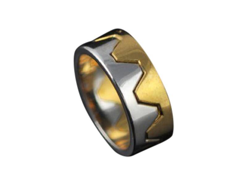 Marina B 18K White and Yellow Gold Ring