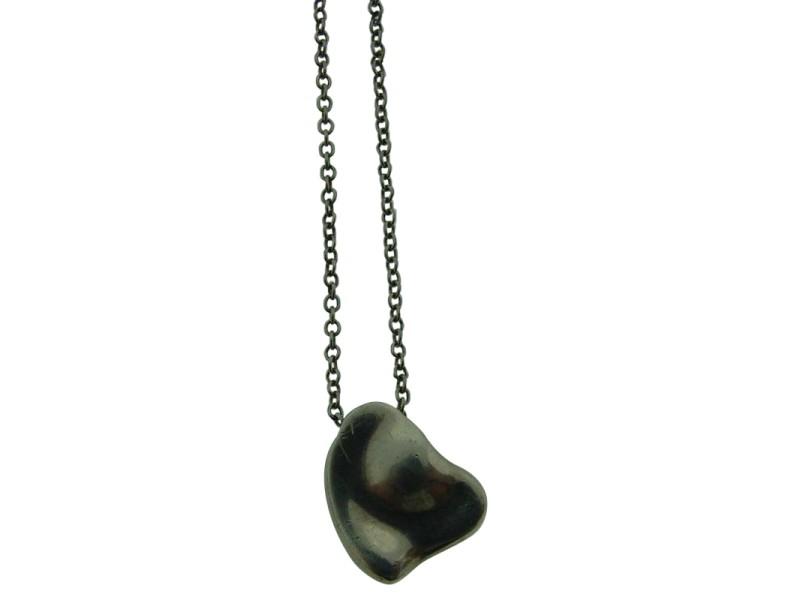 Tiffany & Co. Sterling Silver Elsa Peretti Heart Necklace