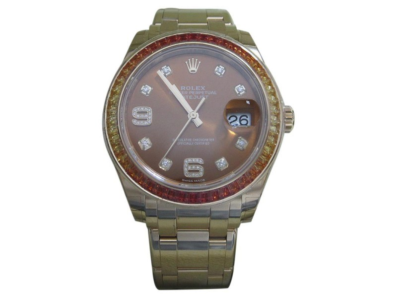 Rolex Oyster Perpetual Datejust 86348SAJOR 39mm Womens Watch