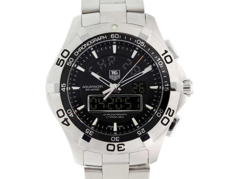Tag Heuer Aquaracer Chronotimer CAF1010.BA0821 43mm Mens Watch