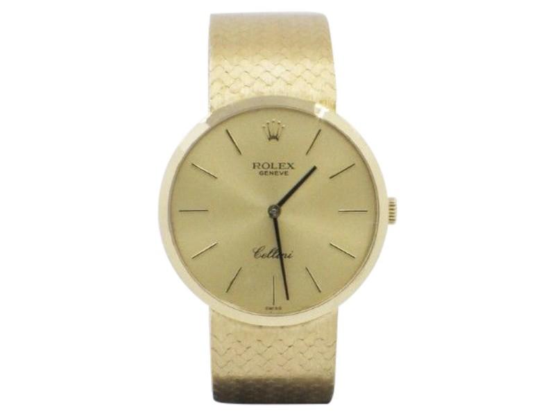 Rolex Cellini 4009 32mm Mens Watch