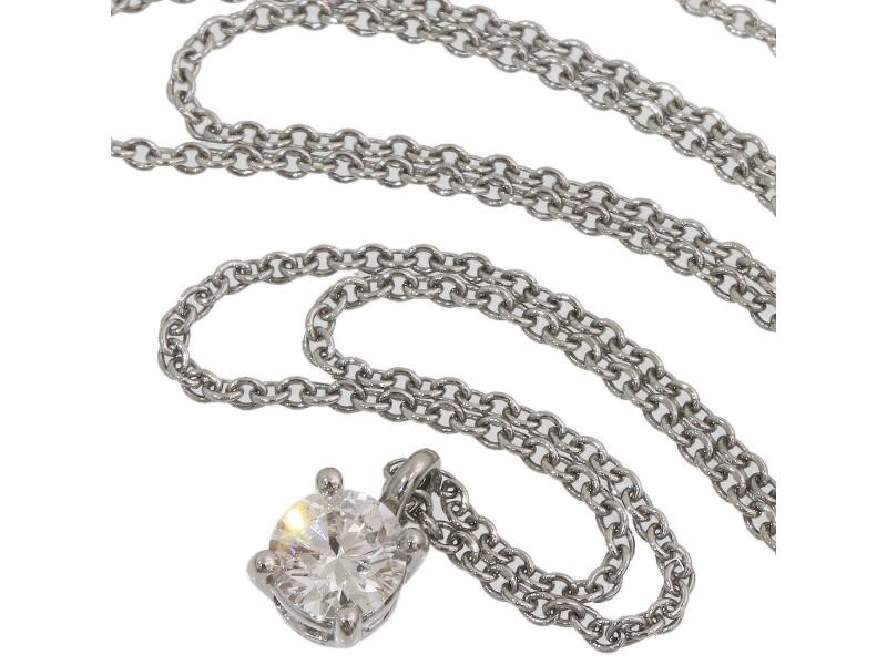 Tiffany & Co. Platinum Diamond Necklace
