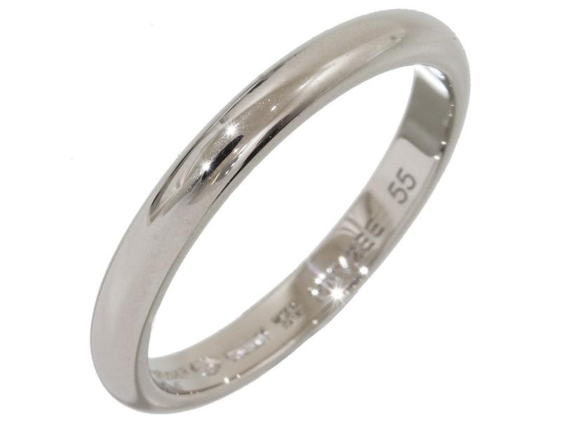 Bvlgari Platinum Wedding Ring Size 7.5