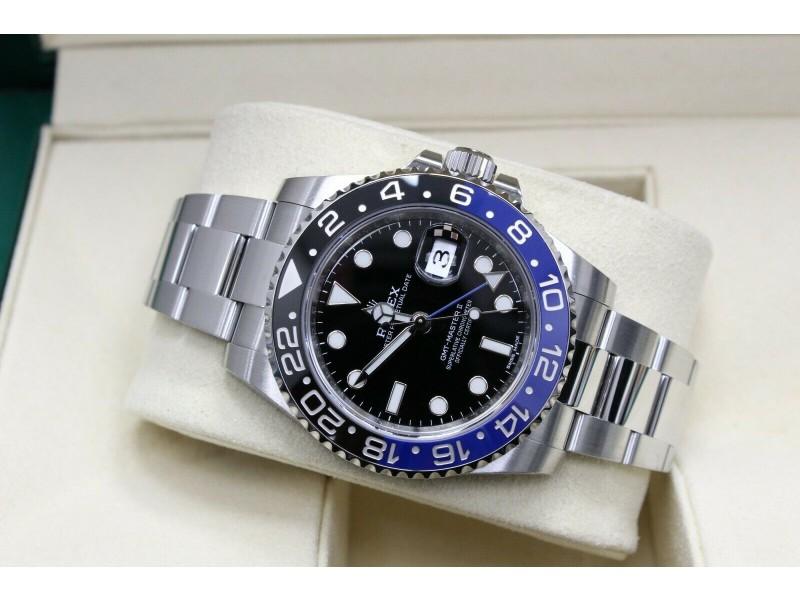Rolex GMT Master II 116710 Batman Black & Blue Stainless Steel