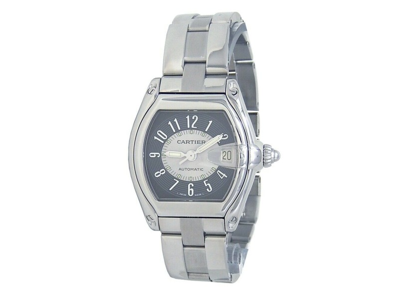 Cartier Roadster Stainless Steel Automatic Ladies Watch 2510
