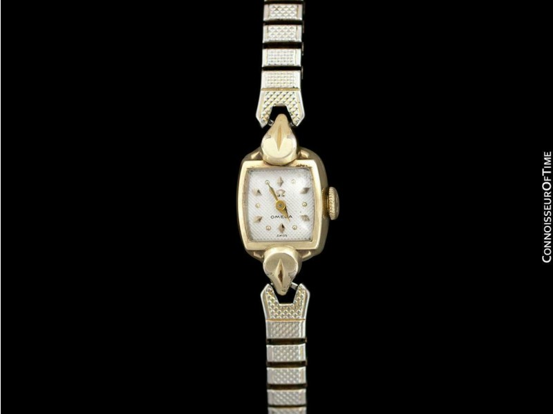 1955 Omega Vintage Ladies Gold Plated Watch - OWNED & WORN BY LORETTA YOUNG