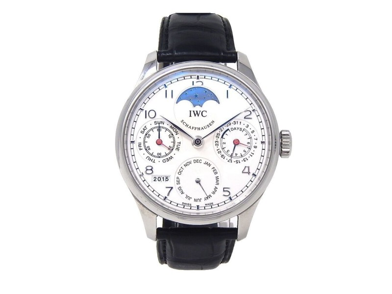 IWC Portuguese Perpetual IW502308 44mm Mens Watch