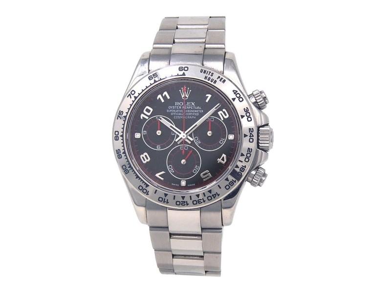 Rolex Daytona Z Serial 116509 40mm Mens Watch