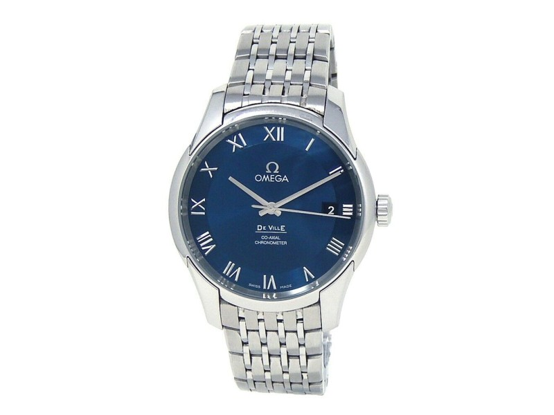 Omega DeVille Co-Axial Stainless Steel Automatic Men's Watch 431.10.41.21.03.001