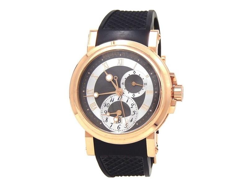 Breguet Marine 18k Rose Gold Automatic Men's Watch 5857BR/Z2/5ZU