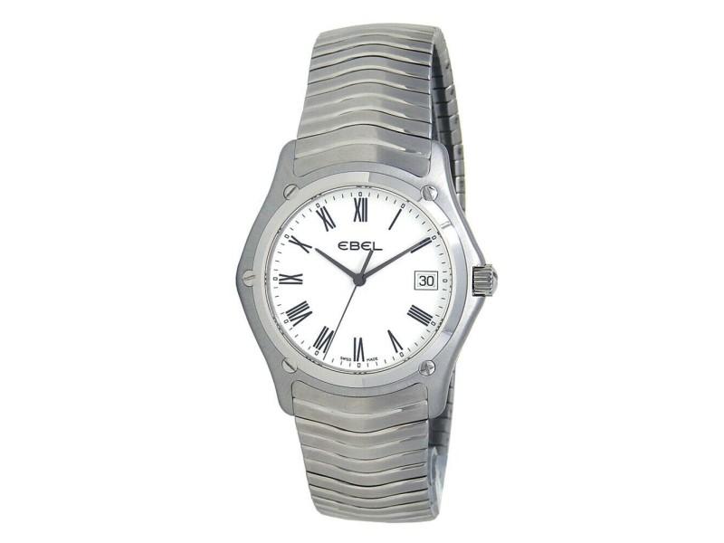 Ebel Classic Stainless Steel Men's Watch Quartz 9255F41/0125 (Old Stock)