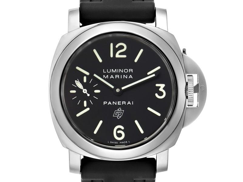 Panerai Luminor Marina Logo 44mm Watch PAM00005 Box Papers