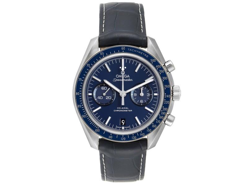 Omega Speedmaster Blue Dial Titanium Mens MoonWatch 311.93.44.51.03.001