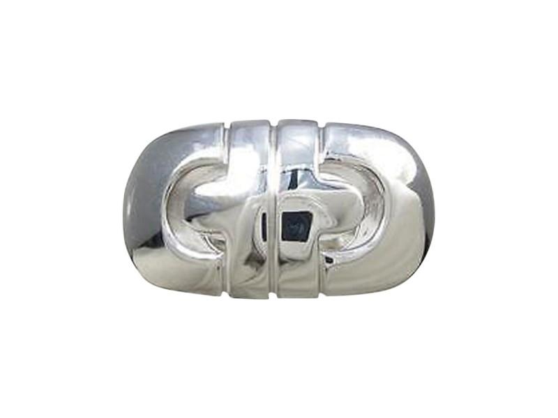 Bulgari 750 White Gold Parenteshi Ring