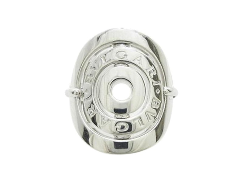 Bulgari 750 White Gold Astrale Cerchi Ring