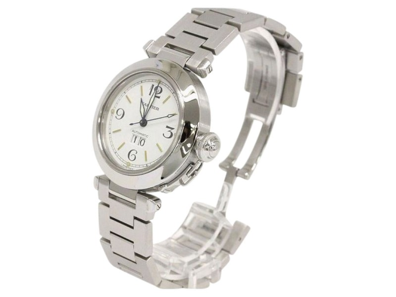 Cartier Pasha C Big Date Stainless Steel Automatic Unisex Watch