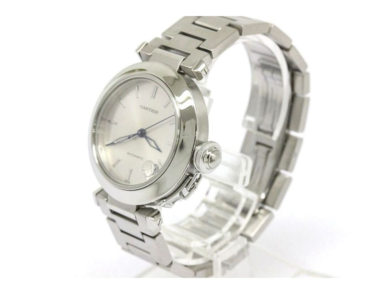 Cartier Pasha C Stainless Steel Automatic Womens Watch