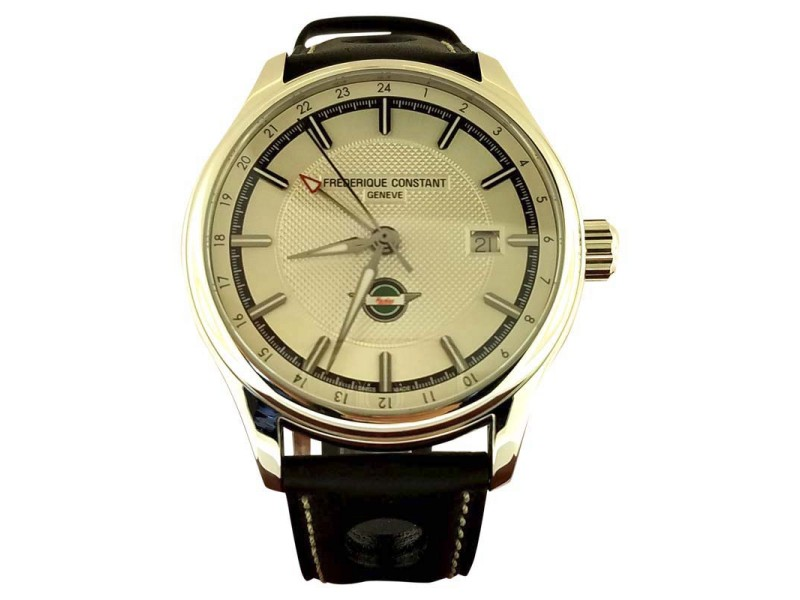 Frederique Constant Rally Healey Stainless Steel Vintage 40mm Mens Watch