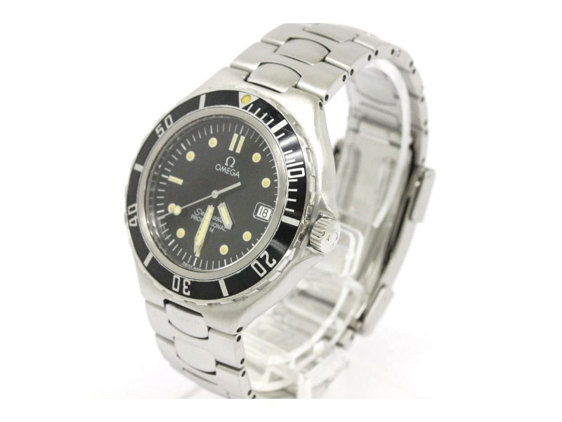 Omega Seamaster Stainless Steel Quartz 36mm Mens Watch