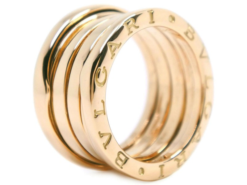 BVLGARI B.Zero 1 18k Yellow Gold Ring 5.25
