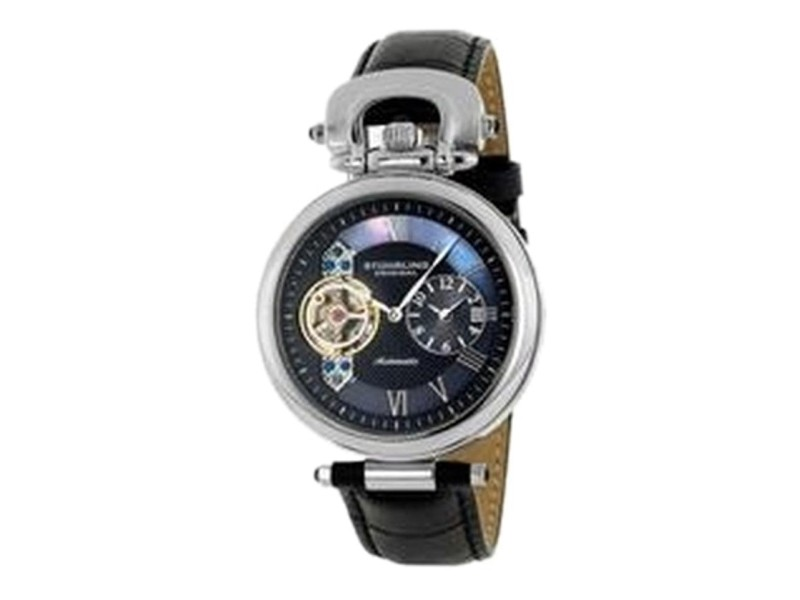 Stuhrling Special Reserve Emperor 127.33151 Stainless Steel & Leather 41mm Watch