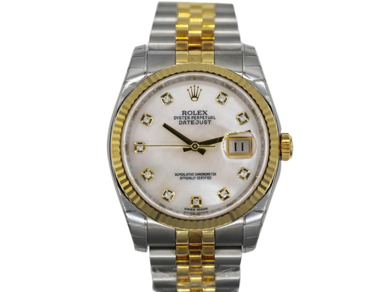 Rolex Datejust 116233 36mm Unisex Watch