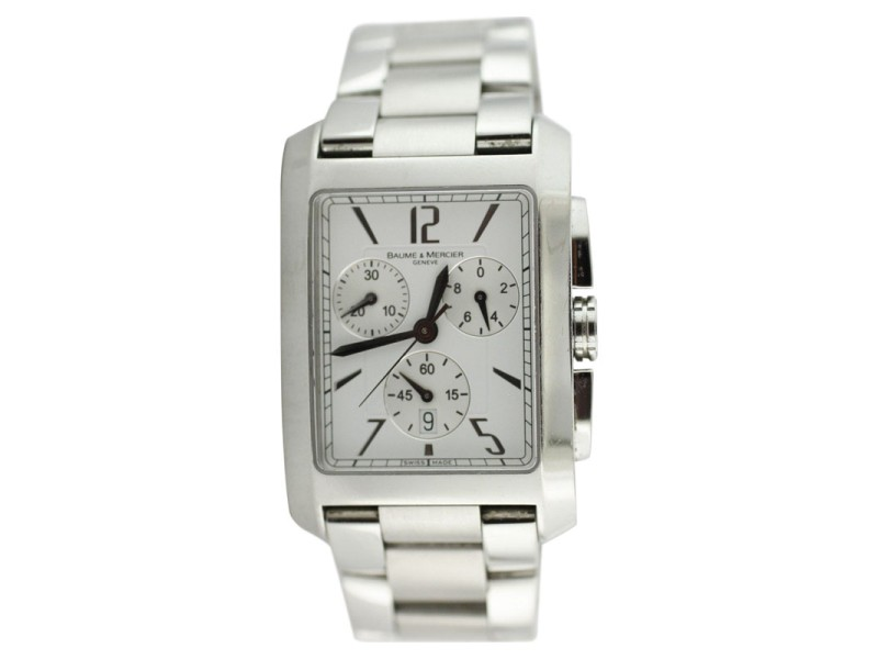 Baume & Mercier Hampton XL Quartz Chronograph Watch
