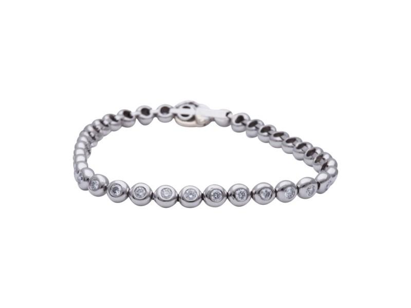 Tiffany & Co. Platinum & 2.22ct Diamond Bracelet