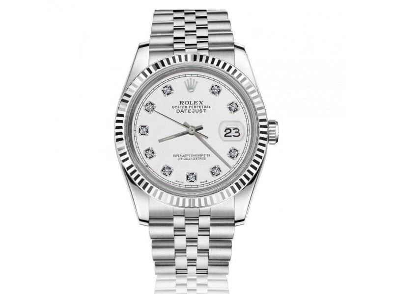 Rolex Datejust 116200 36mm Womens Watch