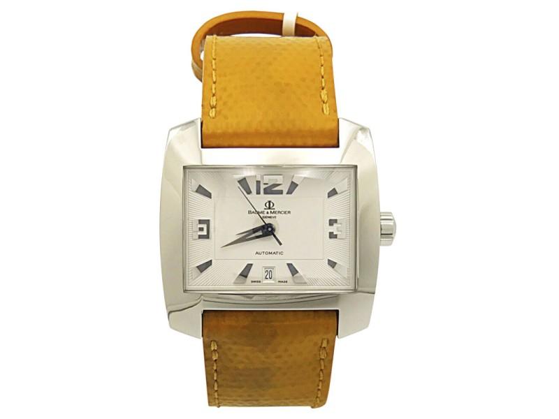 Baume & Mercier Hampton Stainless Steel & Silver Dial 37.5mm Unisex Watch