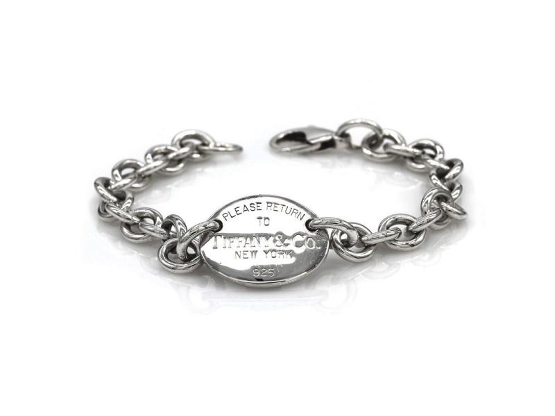 Tiffany & Co. Sterling Silver Return To Tiffany Tag Bracelet
