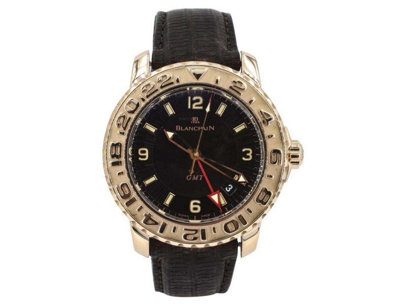 Blancpain Fifty Fathoms GMT 2250-3630 40mm Mens Watch