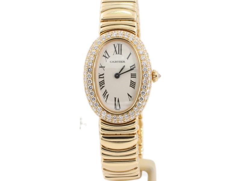 Cartier Baignoire 1954 18mm Womens Watch