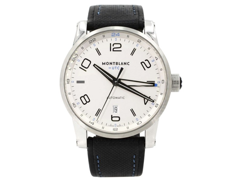 Montblanc TimeWalker Voyager 109333 42mm Mens Watch