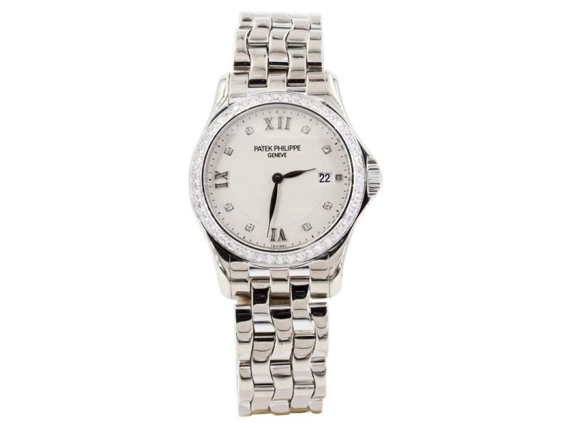 Patek Philippe Calatrava 4906-101g 28mm Womens Watch