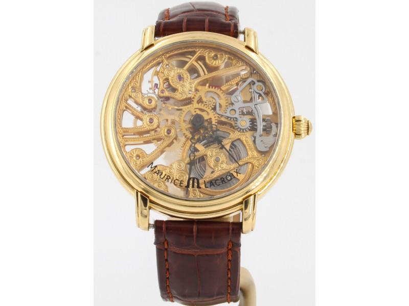 Maurice Lacroix Masterpiece Squelette MP6268 43mm Mens Watch