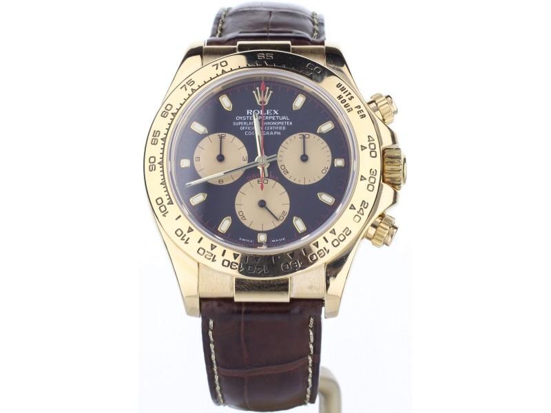 Rolex Daytona 116528 40mm Mens Watch