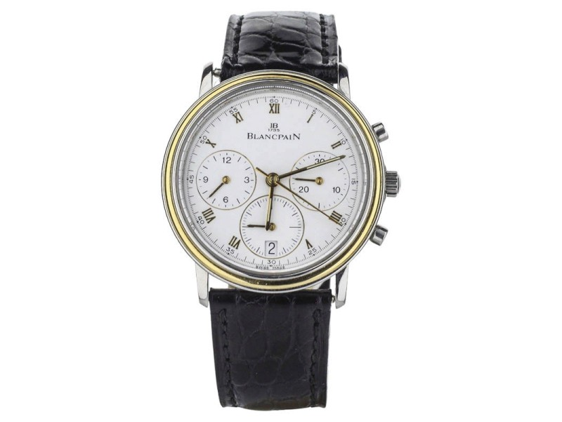 Blancpain Villeret 1185-1318-54 34mm Mens Watch