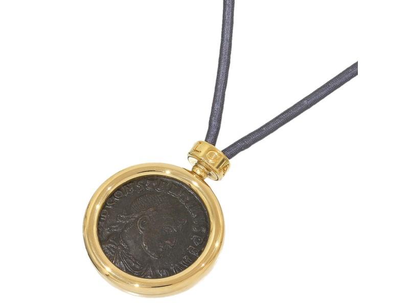 Bulgari BVLGARI 18K Yellow Gold Necklace