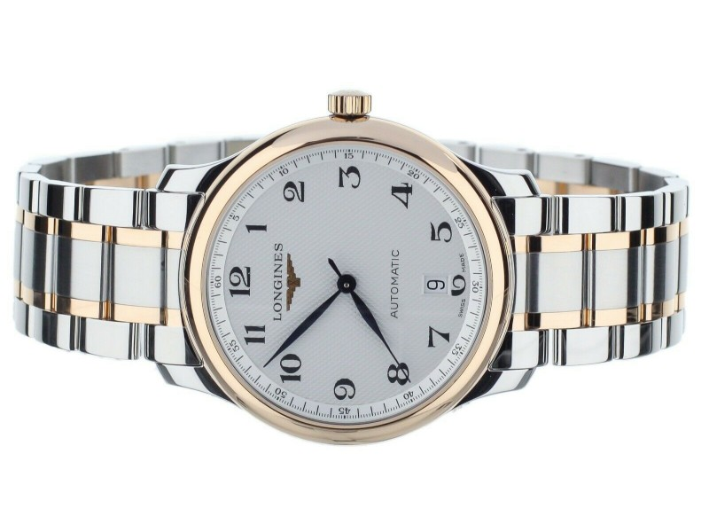 Longines Master Collection White Dial 38.5mm L2.628.5.78.7 L26285787 Full Set