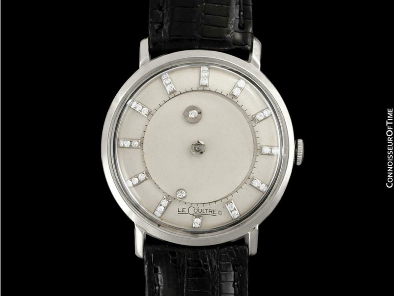 1963 Jaeger-LeCoultre Galaxy Diamond Mystery Dial, 14K White Gold - Mint