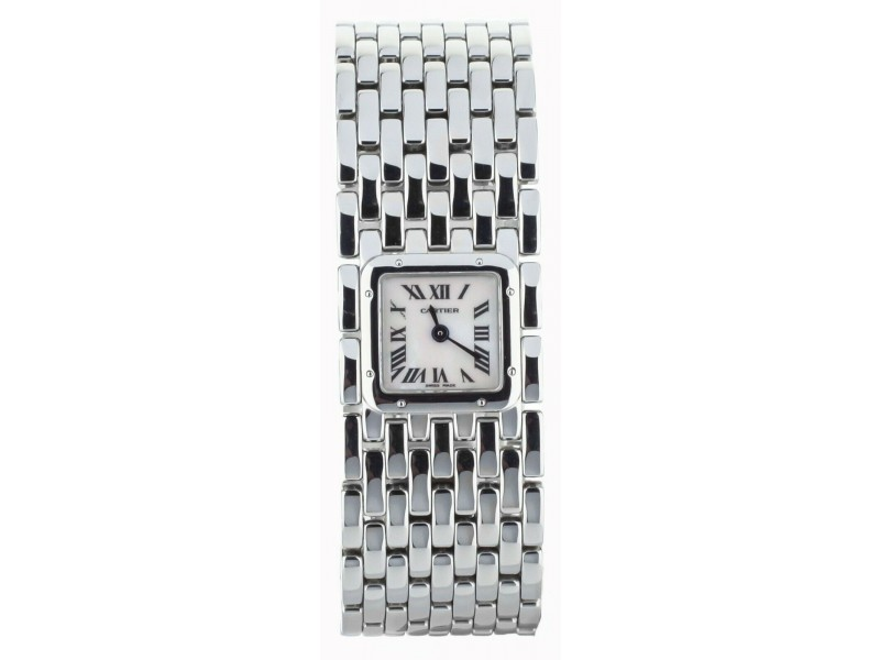 Cartier Panthere Ruban Stainless Steel 21mm Ref 2420