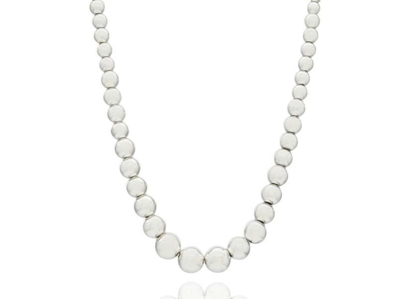 Tiffany & Co. HardWear Graduated Ball Necklace SS