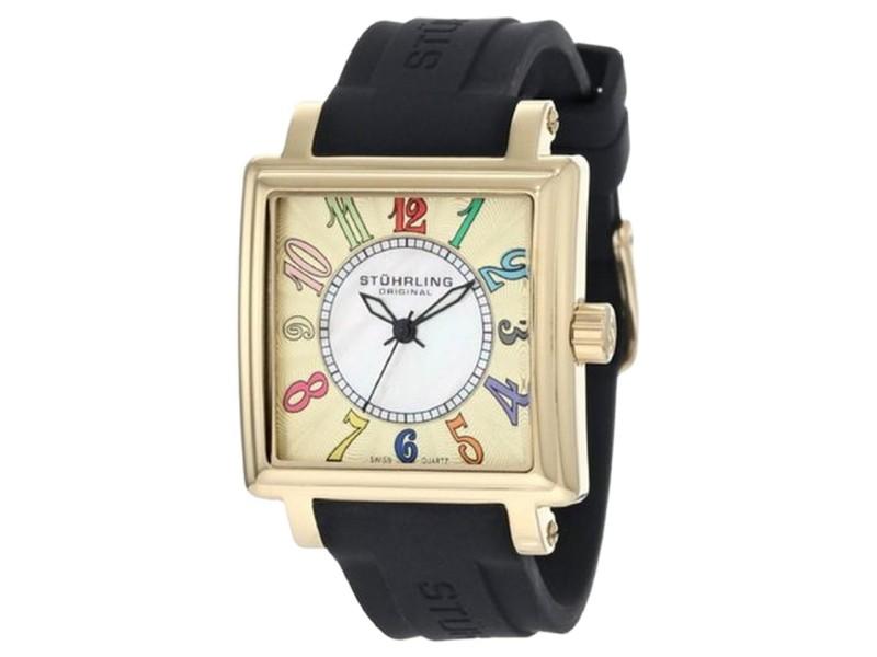 Stuhrling Ozzie Sport 149L.123631 Stainless Steel & Rubber 35mm Watch